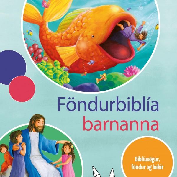 Forsíða Föndurbiblíunnar